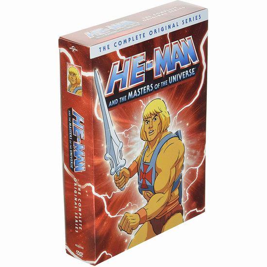 金盒头条:近史低价!怀旧动画《太空超人》130集DVD全集6.1折 45.99加元包邮!