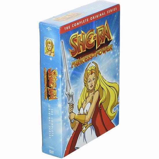 金盒头条:近史低价!怀旧动画《非凡的公主—希瑞》93集DVD全集6.6折 46.99加元包邮!