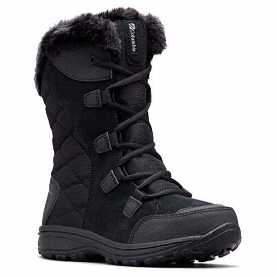历史新低!Columbia Ice Maiden Ii 女式雪地靴5.6折 73.12加元包邮!