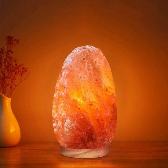 WBM 5-7磅 喜马拉雅 纯天然 负离子 可调亮度 水晶盐灯7.4折 20加元!