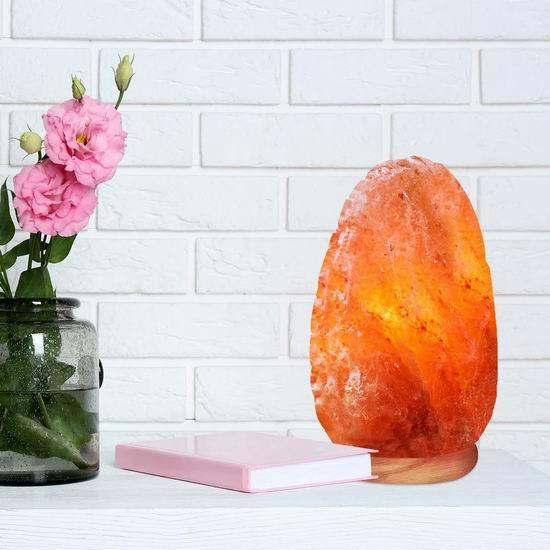 WBM 5-7磅 喜马拉雅 纯天然 负离子 可调亮度 水晶盐灯7.4折 20.01加元!