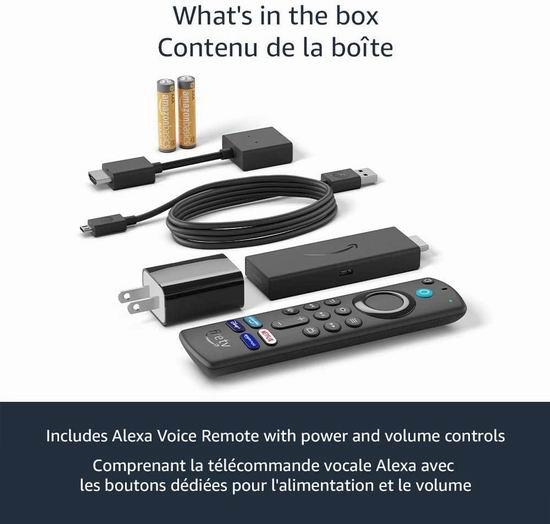 历史新低!新品 Fire TV Alexa语音遥控 第三代电视棒 39.99加元包邮!其中配套遥控价值39.99加元!会员专享!