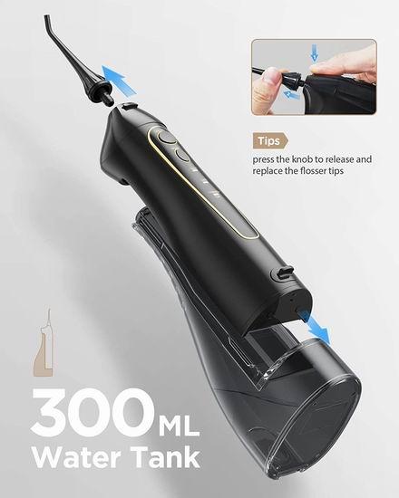 白菜价!历史新低!Gloridea 强力脉冲口腔冲牙器/水牙线+5模式超声波电动牙刷套装4.1折 24.99加元包邮!