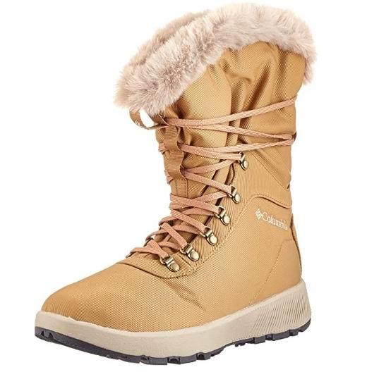 Columbia  Slopeside Village女士防水雪地靴 88.75加元(8.5码),原价 160加元,包邮