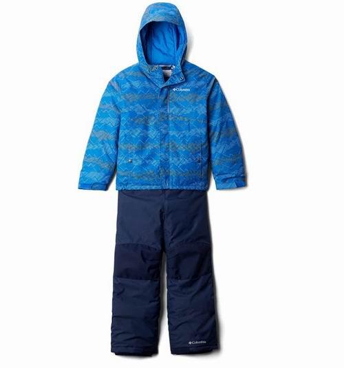 Columbia 宝宝户外保暖外套+ 雪地背带裤 88.5加元,原价 169.99加元,包邮