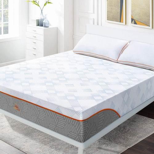 Maxzzz Queen 10 英寸竹炭混合 记忆泡沫床垫 中型硬 288.49加元,原价 339.99加元,包邮
