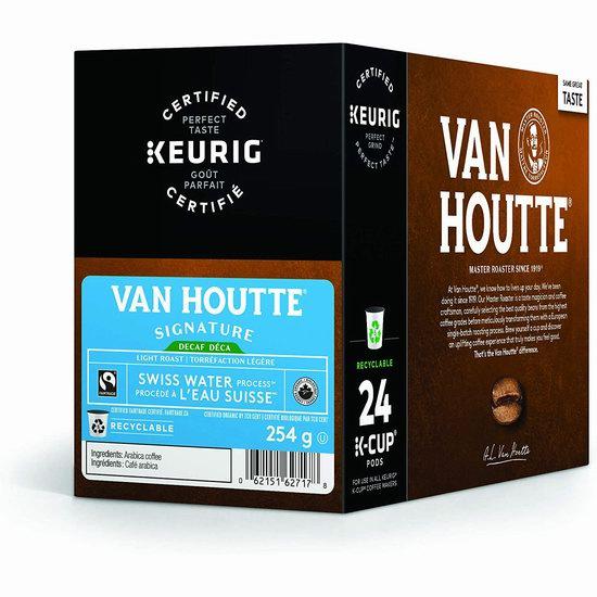 金盒头条:精选 Van Houtte、Timothy`s、Krispy Kreme 等品牌Keurig K-cup咖啡胶囊5.6折起!