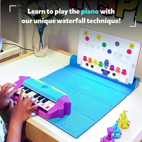 历史新低!Plugo Tunes by PlayShifu 儿童钢琴学习套件6.7折 46.73加元包邮!