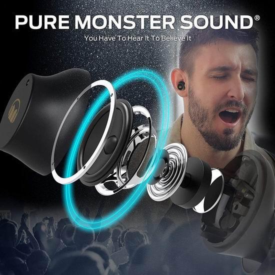 Monster 魔声 N-Lite 200 真无线耳机 7.8折 35.99加元