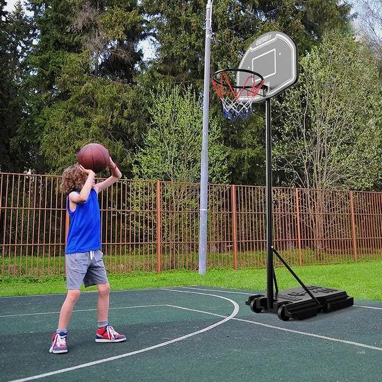 OneTwoFit 1.12-2.04米 儿童/青少年 成长型篮球架 129.19加元包邮!