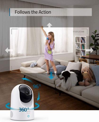 近史低价!eufy Security 2K超高清 AI智能识别 家庭安防 室内无线摄像头 59.99加元包邮!