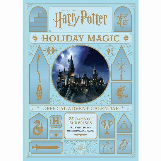 圣诞礼品:Harry Potter 哈利波特 Holiday Magic 魔法假日 圣诞倒数惊喜套装6.1折 24.47加元!
