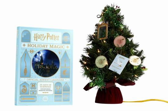 新品预售:Harry Potter 哈利波特 Holiday Magic 魔法假日 圣诞倒数惊喜套装6.7折 26.73加元!