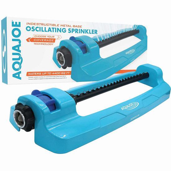 历史新低!Aqua Joe SJI-OMS20 4400平方英尺 草坪浇水器4.6折 19.98加元!
