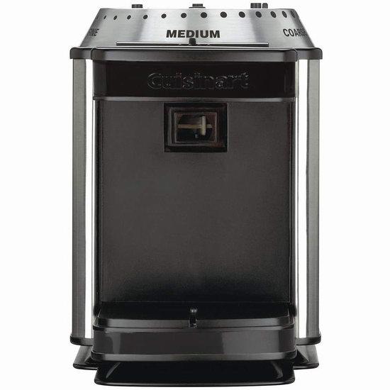 历史新低!翻新 Cuisinart BM-16IHR 全自动咖啡豆研磨机5.9折 29.34加元!
