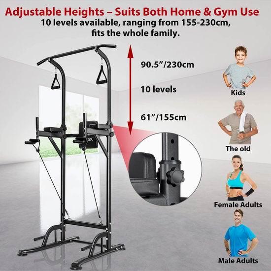 历史新低!arteesol 多功能力量训练健身器6折 125.4加元包邮!