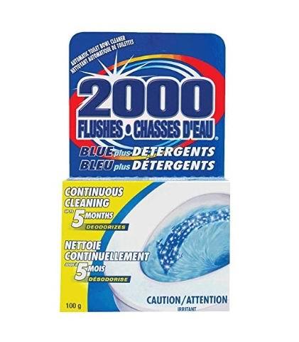 WD-40 2000 次冲 自动马桶清洁剂 3.98加元