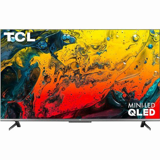 疑似Bug价!新品上市!TCL 6系列 75R646-CA 55英寸/75英寸 4K 120Hz Google TV QLED智能电视 920.65-1827.33加元包邮!