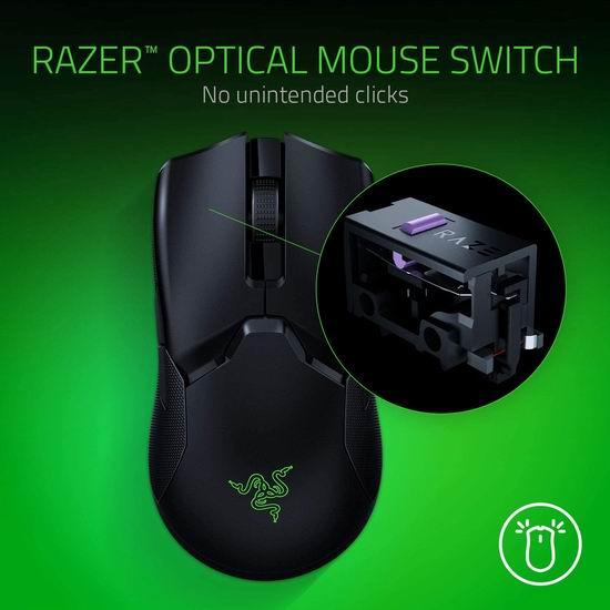 Razer 雷蛇 Viper Ultimate 超轻无线 带充电座 专业游戏鼠标6.5折 129.98加元包邮!