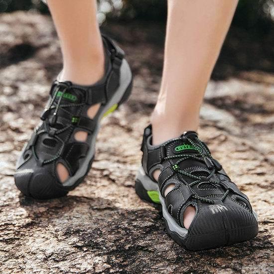 白菜速抢!历史新低!DimaiGlobal 男式登山运动凉鞋(10-10.5码)3.6折 13.99加元清仓!3色可选!