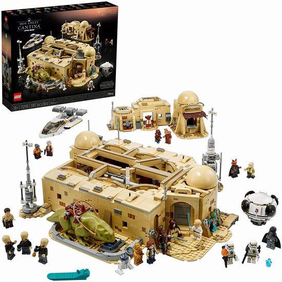 手慢无!历史新低!LEGO 乐高 75290 星球大战 莫斯艾斯利小酒馆(3187pcs) 382.45加元包邮!