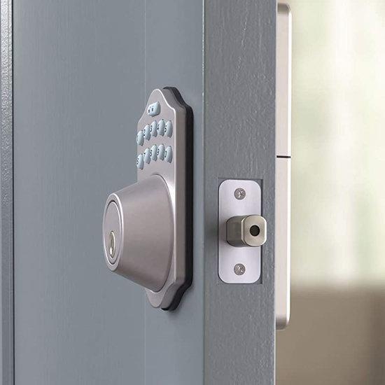 近史低价!AmazonBasics 电子密码门锁6.1折 53.18加元包邮!