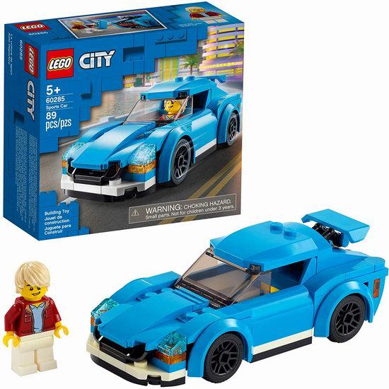 历史新低!LEGO 乐高 60285 城市系列 跑车(89pcs)6.4折 9加元!