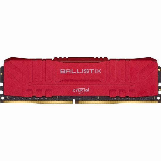历史新低!Crucial 英睿达 Ballistix 铂胜 32GB (16GBx2) 游戏台式机内存 157.99加元包邮!