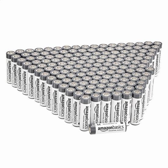 Amazon Basics AA Alkaline 高性能碱性电池150只装7.8折 32.6加元!