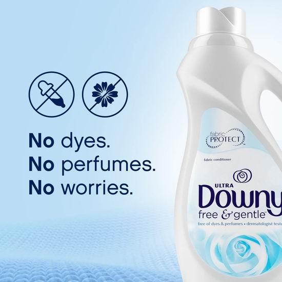 历史新低!Downy 当妮 Ultra Free & Gentle 低过敏 衣物柔顺剂(2.3升,90缸)4.2折 4.18加元清仓!