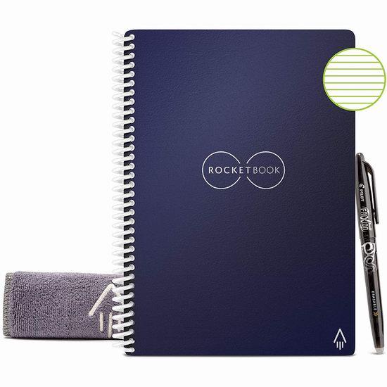历史新低!Rocketbook Executive 神奇智能笔记本6.4折 29.4加元!