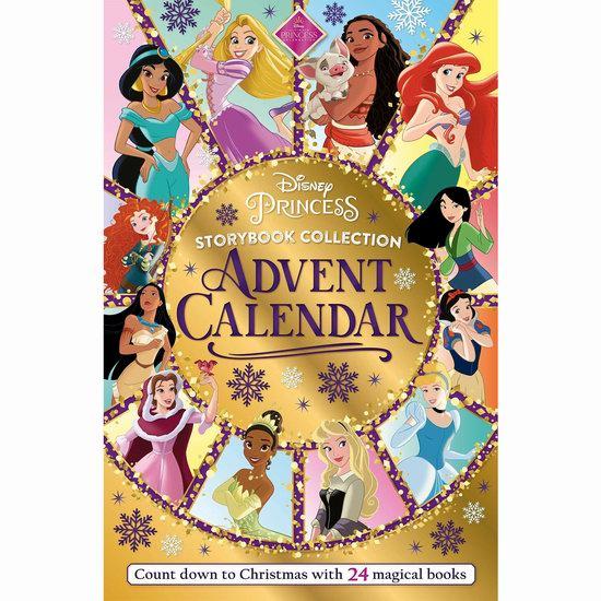 新品预售:Disney Princess 迪士尼公主 圣诞倒数 故事书24件套7.3折 29.84加元!