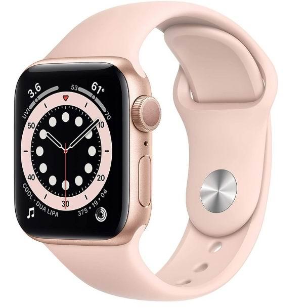 Apple Watch Series 6 苹果智能手表 GPS 40mm 469加元,原价 529.99加元,包邮