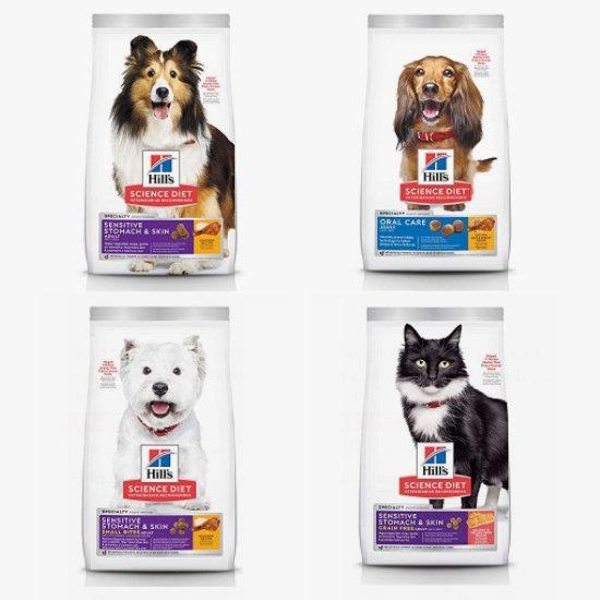 金盒头条:兽医推荐!精选多款 Hill's Science Diet 希尔思 营养猫粮、狗粮7.7折起+额外9.5折!