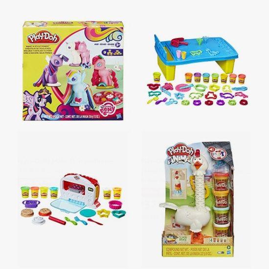 金盒头条:精选 Play-Doh 培乐多 橡皮彩泥玩具等4.7折起!