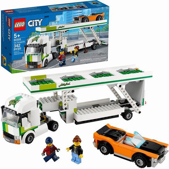 历史新低!LEGO 乐高 60305 城市组 汽车运输车(342pcs)8折 31.99加元!