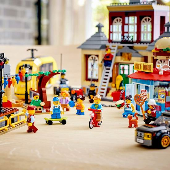 历史新低!LEGO 乐高 60271 城市组 中央广场(1517pcs)8折 183.99加元包邮!