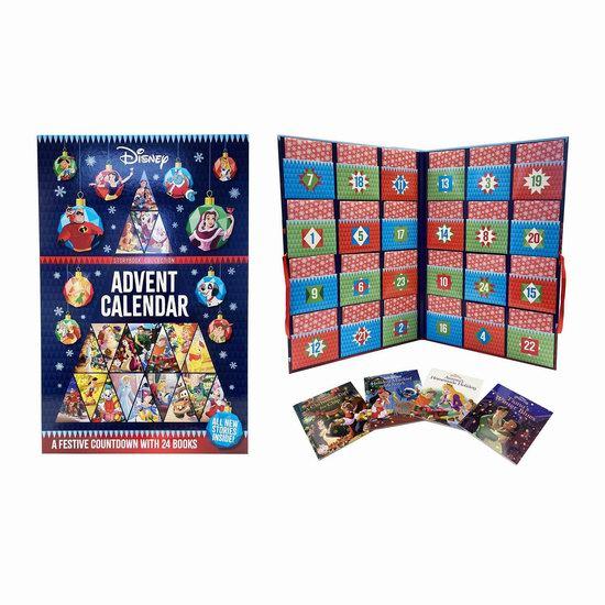 圣诞礼品:Disney 迪士尼童话 圣诞倒数 故事书24件套7.4折 30.34加元!