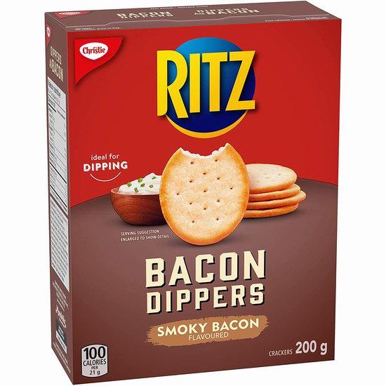 白菜价!历史新低!Ritz Bacon 培根味脆片饼干(200g)2.5折 1加元清仓!