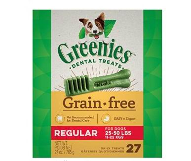 Greenies 狗狗洁齿骨 24.99加元,原价 37.99加元