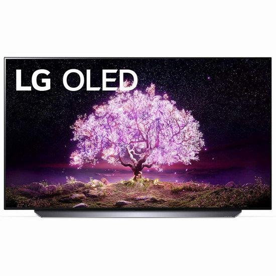 手慢无!历史新低!LG OLED65C1 65英寸 4K超高清 120Hz OLED 智能电视/游戏显示器6.9折 2298加元包邮!比Costco促销还便宜399.99加元!