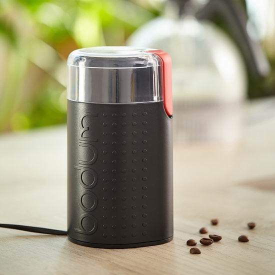 历史新低!Bodum Bistro 多功能 香料/中药/咖啡豆 磨豆机6.8折 23.9加元!3色可选!