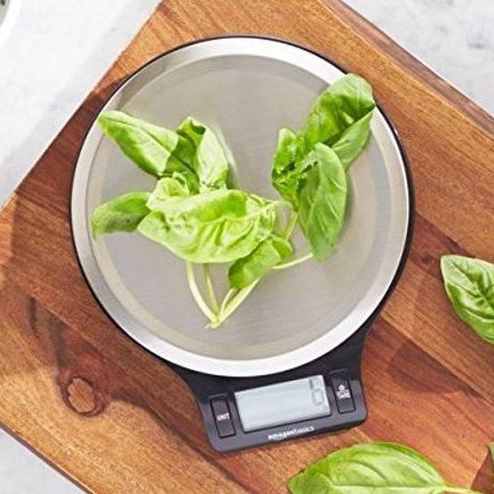 AmazonBasics 时尚不锈钢厨房秤(5公斤) 13.29加元!