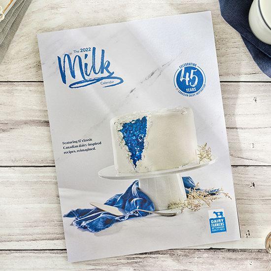 Dairy Farmers免费赠送2022年牛奶食谱月历!
