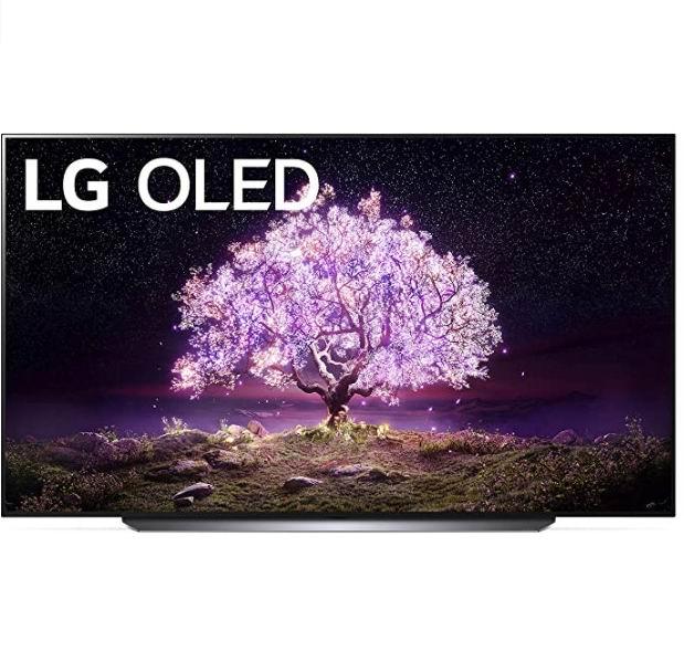 史低价!LG OLED83C1 83英寸 4K 全高清 120Hz OLED 智能电视 7997.99加元,原价 8997.99加元,包邮