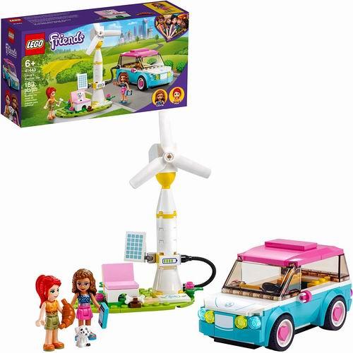 LEGO 乐高 41443 奥莉薇亚的电动汽车 15.98加元,原价 19.99加元