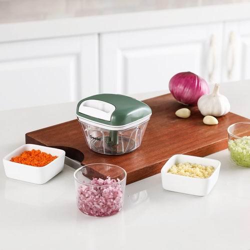 金盒头条:厨房小帮手!Geedel 手拉式蔬菜切碎机、切片机 、切条机 7折 13.29加元起