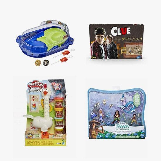 金盒头条:精选 Hasbro 孩之宝、Play-Doh、Beyblade Burst 等品牌儿童益智玩具、桌面游戏、玩偶等6.3折起!会员专享!