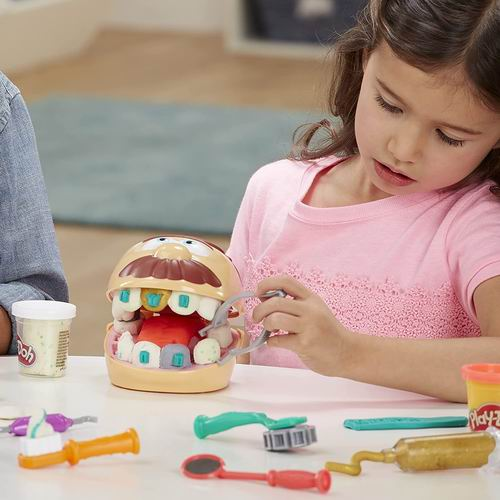 Play-Doh Drill 'n Fill 牙医体验组合玩具 6.8折 14.94加元,原价 21.99加元