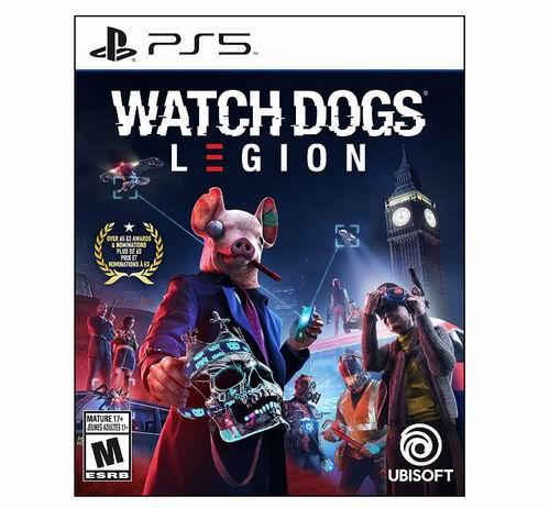 PS4/PS5/Xbox One《Watch Dogs Legion :看门狗军团》游戏 29.99加元,原价 79.99加元